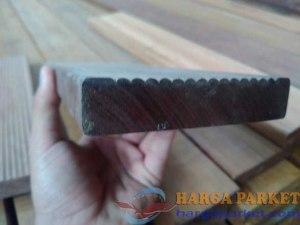 harga lantai kayu outdoor ulin sulawesi