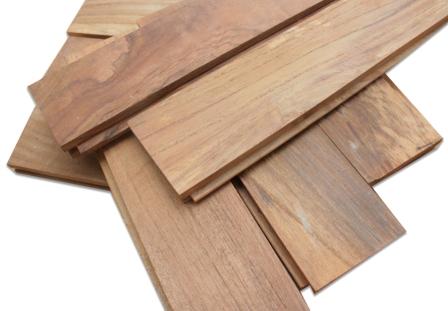 Lantai kayu parket Jati T&G