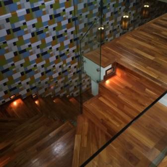 lantai kayu parket Jati