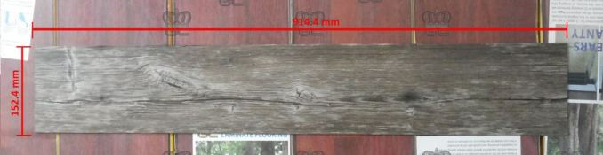 Ukuran lantai kayu vinyl
