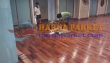harga lantai kayu flooring merbau bepel