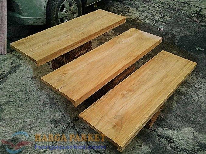harga Papan Tangga kayu Jati 2
