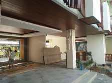Plafond kayu/lumbre shiring